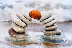 πέτρα έμφραξης Στοκ εικόνες με δικαίωμα ελεύθερης χρήσης