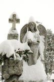 πέτρα αγαλμάτων αγγέλου Στοκ Φωτογραφίες