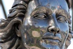 πέτρα αγαλμάτων προσώπου Στοκ Φωτογραφίες