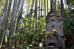 πέτρα αγαλμάτων του Βούδα Στοκ Εικόνα