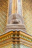 πέτρα αγαλμάτων του Βούδα Στοκ Φωτογραφίες