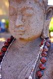 πέτρα αγαλμάτων του Βούδα Στοκ φωτογραφία με δικαίωμα ελεύθερης χρήσης