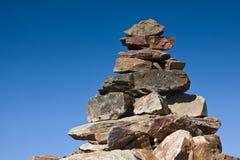 πέτρα ατόμων Στοκ φωτογραφία με δικαίωμα ελεύθερης χρήσης