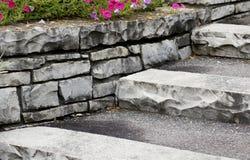 πέτρα βημάτων Στοκ Εικόνα