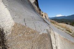 πέτρα βουνών γρανίτη monolit Στοκ Φωτογραφία