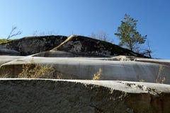 πέτρα βουνών γρανίτη monolit Στοκ Εικόνες