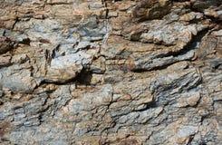 πέτρα βράχου προτύπων ανασ&kappa Στοκ Εικόνες