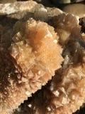 Πέτρα βράχου Aragonite Στοκ φωτογραφία με δικαίωμα ελεύθερης χρήσης