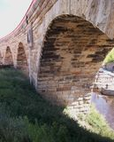 πέτρα γεφυρών αψίδων Στοκ Εικόνες