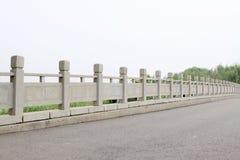 πέτρα γεφυρών κάγγελων Στοκ φωτογραφία με δικαίωμα ελεύθερης χρήσης