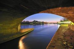 πέτρα γεφυρών κάτω Στοκ Φωτογραφίες