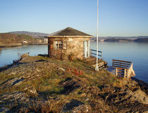 πέτρα εξοχικών σπιτιών Στοκ φωτογραφίες με δικαίωμα ελεύθερης χρήσης