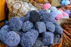 Πέτρα ελαφροπετρών. Εκλεκτική εστίαση Στοκ Εικόνες