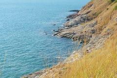 Πέτρα και θάλασσα βουνών Στοκ φωτογραφίες με δικαίωμα ελεύθερης χρήσης