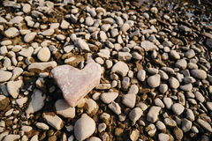 πέτρα καρδιών μορφής Εννοιολογικό σχέδιο Στοκ εικόνα με δικαίωμα ελεύθερης χρήσης