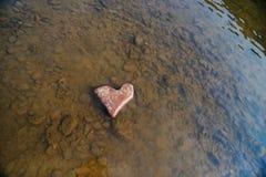 πέτρα καρδιών μορφής Εννοιολογικό σχέδιο Στοκ Φωτογραφίες