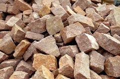 Πέτρα κατασκευής τοίχων Στοκ φωτογραφία με δικαίωμα ελεύθερης χρήσης