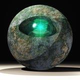 πέτρα κοσμημάτων ματιών Στοκ Φωτογραφίες