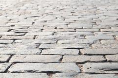 πέτρα κόκκινων τετραγώνων &omicron Στοκ Εικόνα