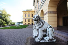 πέτρα λιονταριών Στοκ εικόνα με δικαίωμα ελεύθερης χρήσης