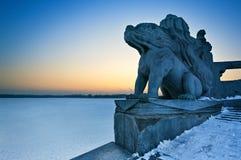 πέτρα λιονταριών Στοκ Φωτογραφία