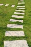πέτρα μονοπατιών Στοκ φωτογραφία με δικαίωμα ελεύθερης χρήσης