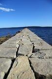 πέτρα μονοπατιών Στοκ Εικόνες