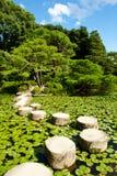 πέτρα μονοπατιών zen Στοκ εικόνα με δικαίωμα ελεύθερης χρήσης