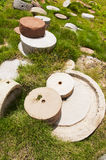 πέτρα μύλων Στοκ φωτογραφίες με δικαίωμα ελεύθερης χρήσης