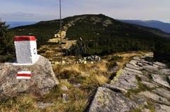 Πέτρα ορίου Στοκ φωτογραφία με δικαίωμα ελεύθερης χρήσης