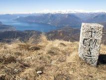 Πέτρα ορίου Στοκ εικόνες με δικαίωμα ελεύθερης χρήσης