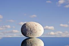 πέτρα ουρανού καθρεφτών Στοκ Εικόνες