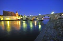 πέτρα ποταμών Δούναβη γεφυ&r Στοκ Εικόνες