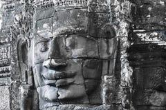 πέτρα προσώπων angkor bayon Στοκ φωτογραφία με δικαίωμα ελεύθερης χρήσης