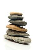 πέτρα πυραμίδων στοκ εικόνα