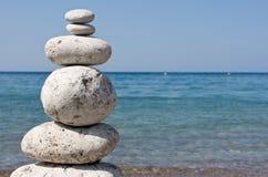 πέτρα πυραμίδων Στοκ εικόνες με δικαίωμα ελεύθερης χρήσης