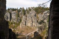 πέτρα πόλεων Στοκ φωτογραφία με δικαίωμα ελεύθερης χρήσης