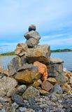 πέτρα σημαδιών Στοκ Φωτογραφία