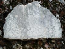 πέτρα σημαδιών Στοκ εικόνα με δικαίωμα ελεύθερης χρήσης