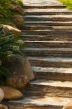 πέτρα σκαλοπατιών Στοκ φωτογραφίες με δικαίωμα ελεύθερης χρήσης