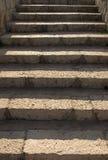 πέτρα σκαλοπατιών Στοκ Φωτογραφίες