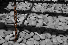 πέτρα σκιών Στοκ εικόνες με δικαίωμα ελεύθερης χρήσης