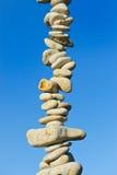 πέτρα στηλών Στοκ φωτογραφία με δικαίωμα ελεύθερης χρήσης