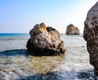 Πέτρα στην παραλία Στοκ Εικόνα