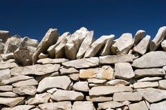 πέτρα στοιβών μπλε ουραν&omicron Στοκ εικόνες με δικαίωμα ελεύθερης χρήσης