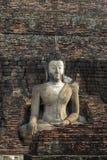 πέτρα του Βούδα τούβλου ανασκόπησης Στοκ Εικόνες
