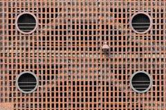 Πέτρα τούβλου και άνευ ραφής υπόβαθρο και σύσταση τοίχων λαβής Στοκ φωτογραφίες με δικαίωμα ελεύθερης χρήσης
