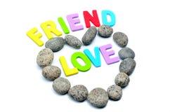 Πέτρα χαλικιών μορφής καρδιών Στοκ φωτογραφία με δικαίωμα ελεύθερης χρήσης