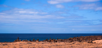 πέτρα playa σωρών BLANCA Στοκ εικόνες με δικαίωμα ελεύθερης χρήσης
