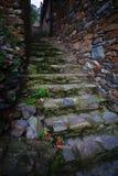 πέτρα starircase Στοκ Φωτογραφίες